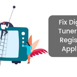 How Should I Remove Digital TV Tuner Device Registration Application