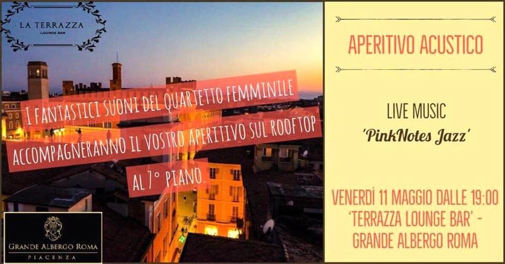 Grande Albergo Roma aperitivo acustico AperiJazz