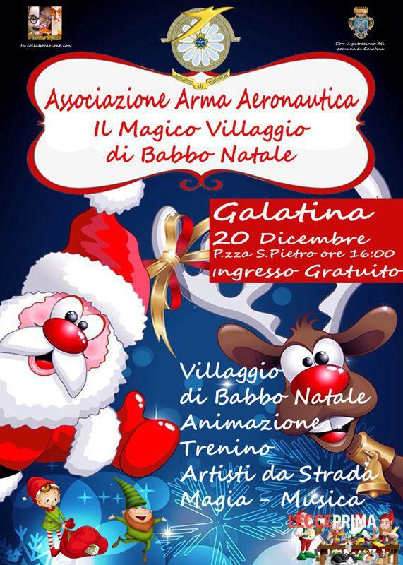 il magico villaggio di babbo natale  galatina  20 dicembre 2015 Eventi a Lecce
