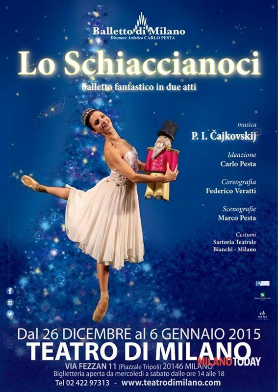 Lo schiaccianoci in scena al Teatro di Milano dal 26