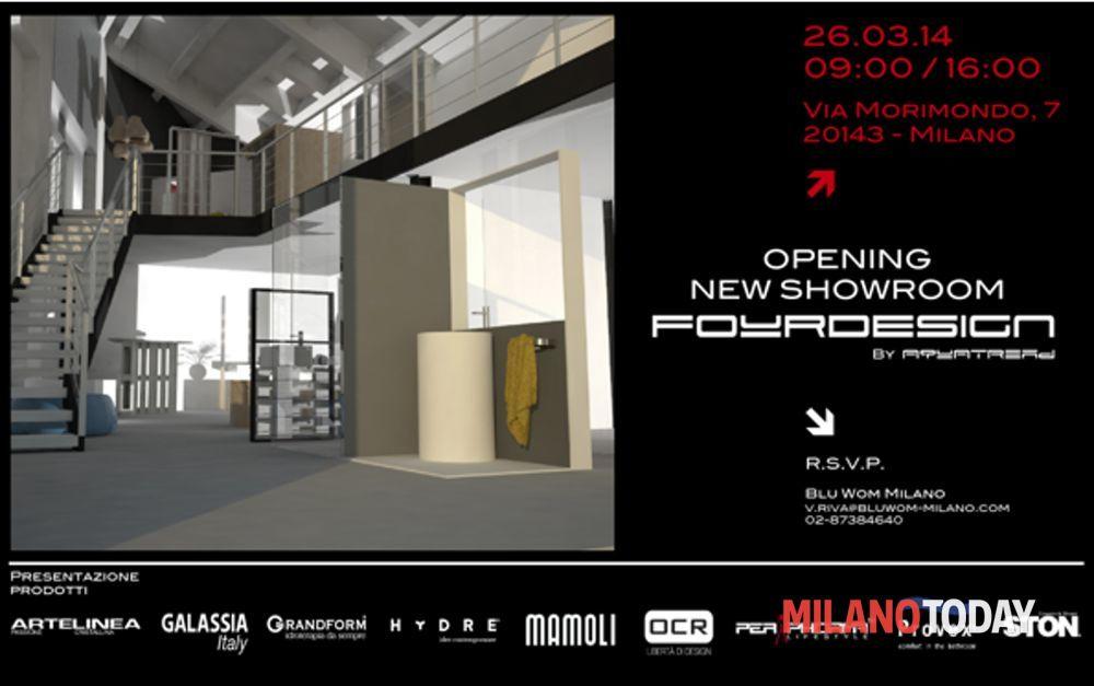 Inaugurazione del nuovo showroom milanese fourdesign by