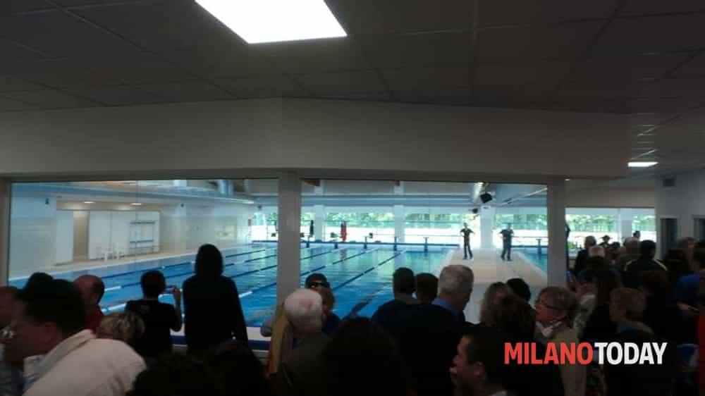 Lainate inaugurata la nuova piscina comunale