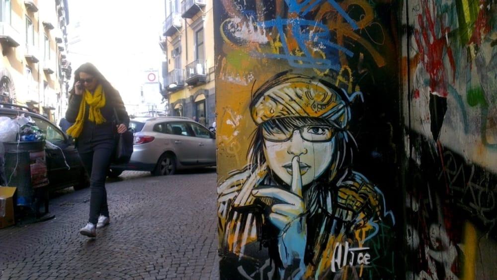 Street Art a Napoli le principali opere da scoprire
