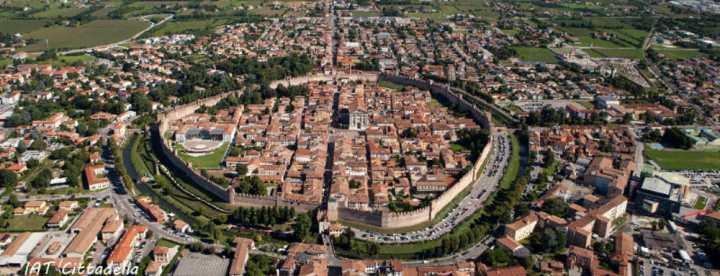 Cittadella dall'alto |numerosette.eu