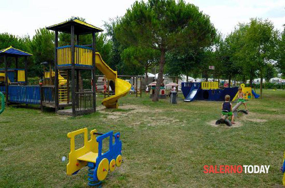 Rione Petrosino linaugurazione dei nuovi giardini con il