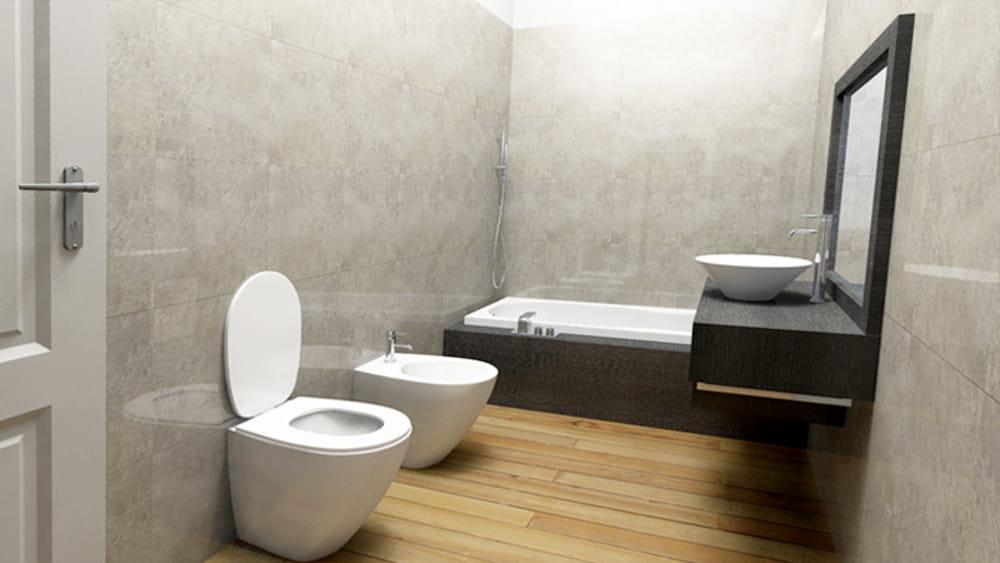 Come arredare un bagno senza finestre