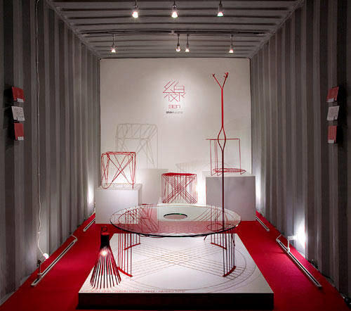 A Nod to Graphic Design: Line Furniture by Shinn Asano in home furnishings Category