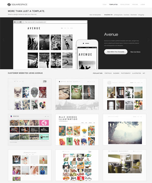 Try On A New Website In The New Year With Squarespace