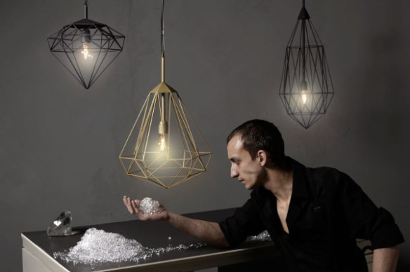 Hanging Light Gems: Diamonds by JSPR in home furnishings Category