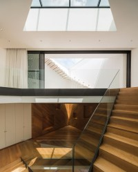 Modern White House with Integrated Angles and Corners ...