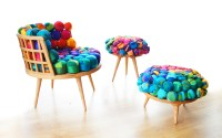 Cheery Recycled Silk Chairs From Meb Rure - Design Milk