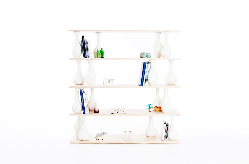 Vase Shelves by Bakery Studio