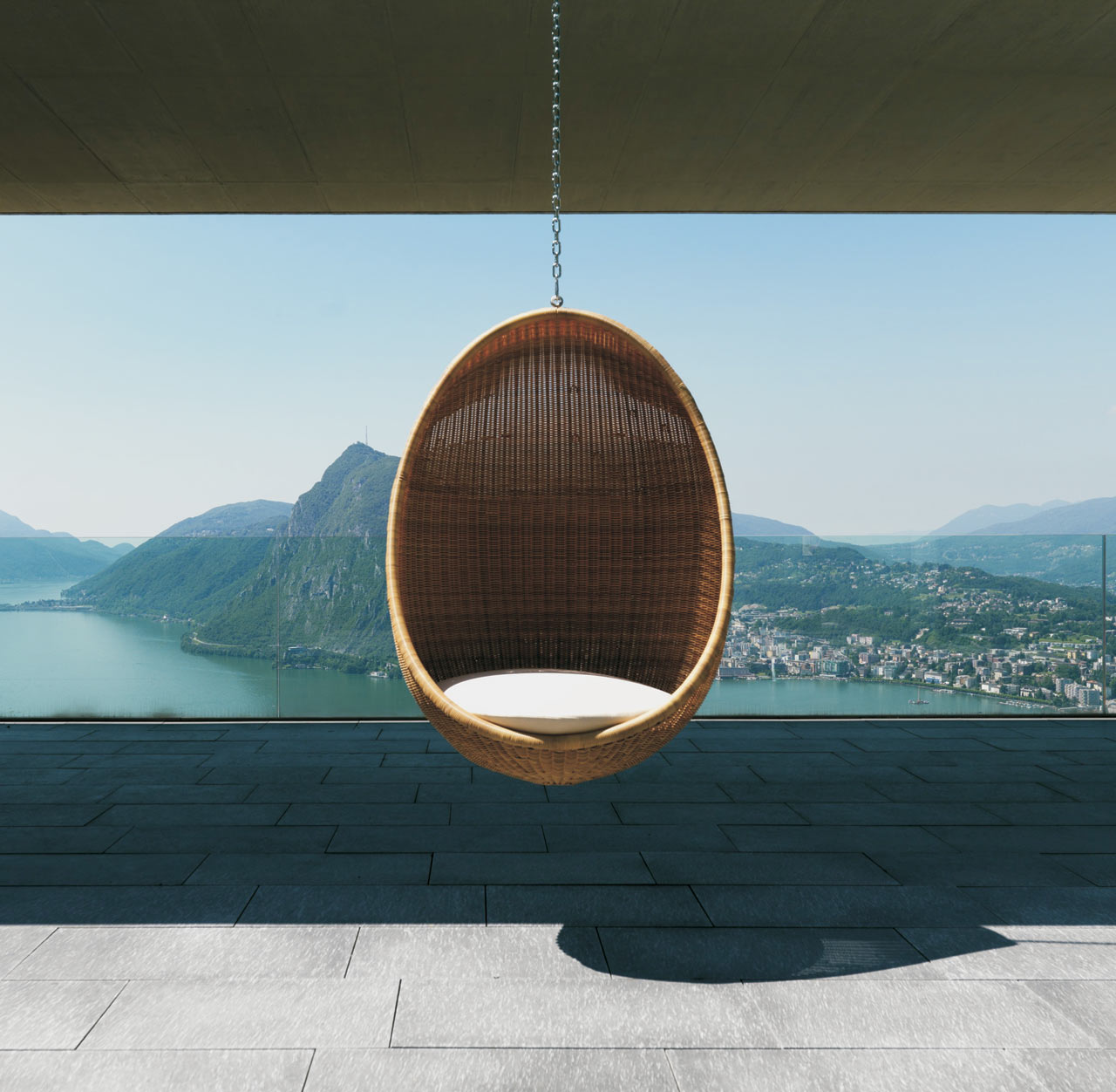 Outdoor Wicker Hanging Egg Chair Modern Wicker Outdoor Egg Chair Design Milk