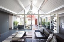 Double Gable Eichler Remodel Klopf Architecture