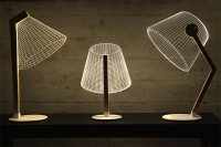 Modern Optical Illusion Lamps by Studio Cheha - Design Milk