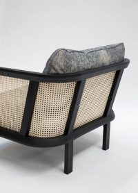 A Vintage-Inspired, Woven Cane Chair from BuzziSpace ...
