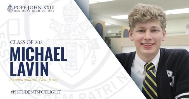 Pope John Student Spotlight: Michael Lavin '21