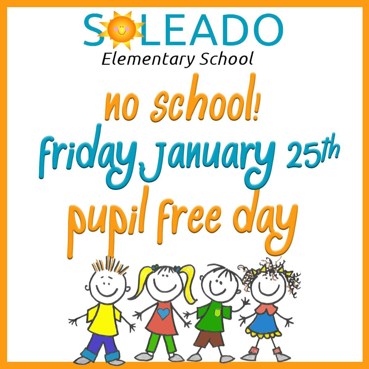 hight resolution of pupil free day clipart