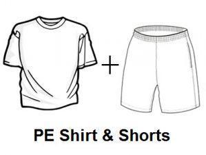 PE Clothes & Spirit Items – Parents