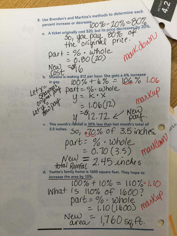 Scientific Methods Worksheet 2 Proportional Reasoning