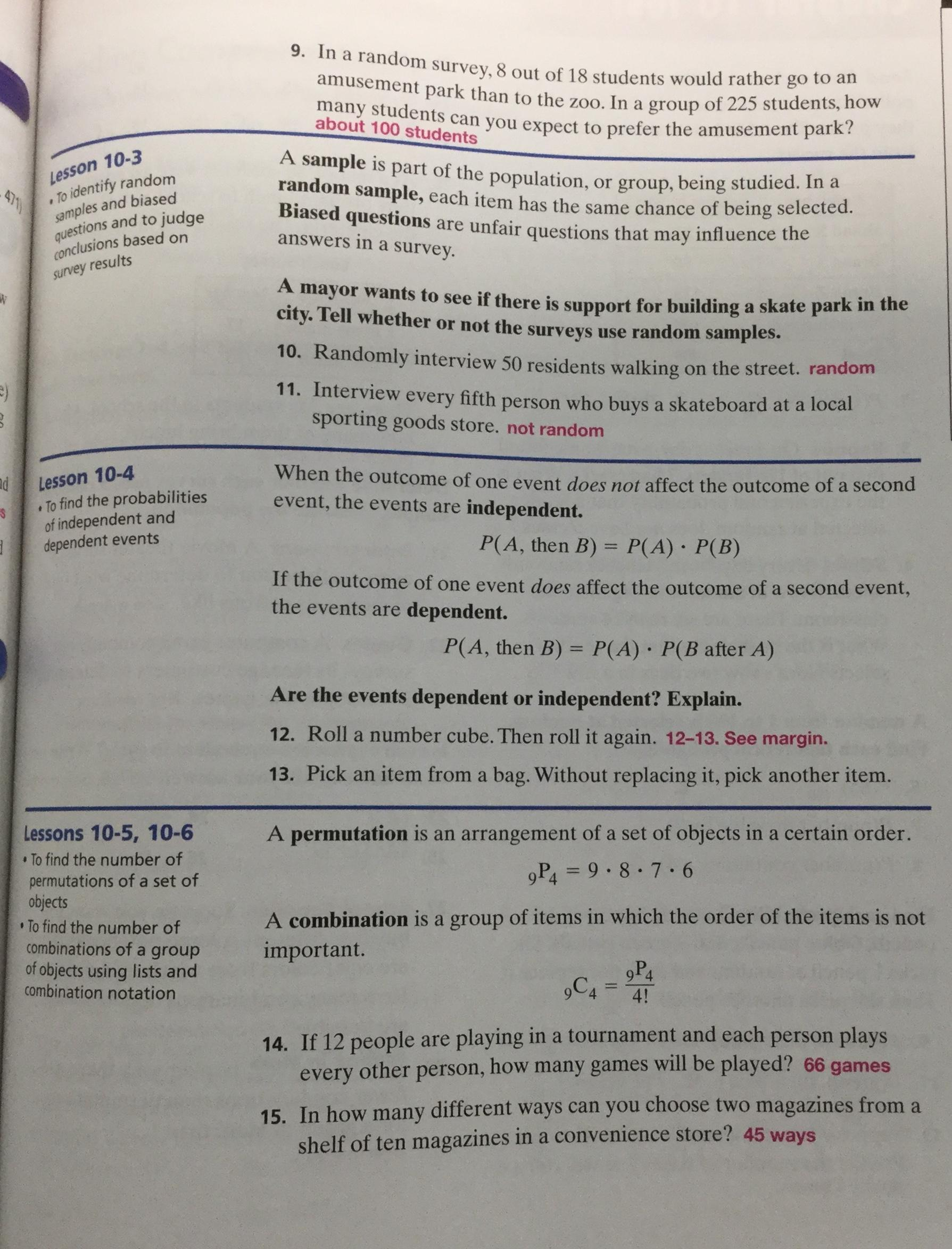 Faceing Math Lesson 4 Solving Two Step Equations Answer