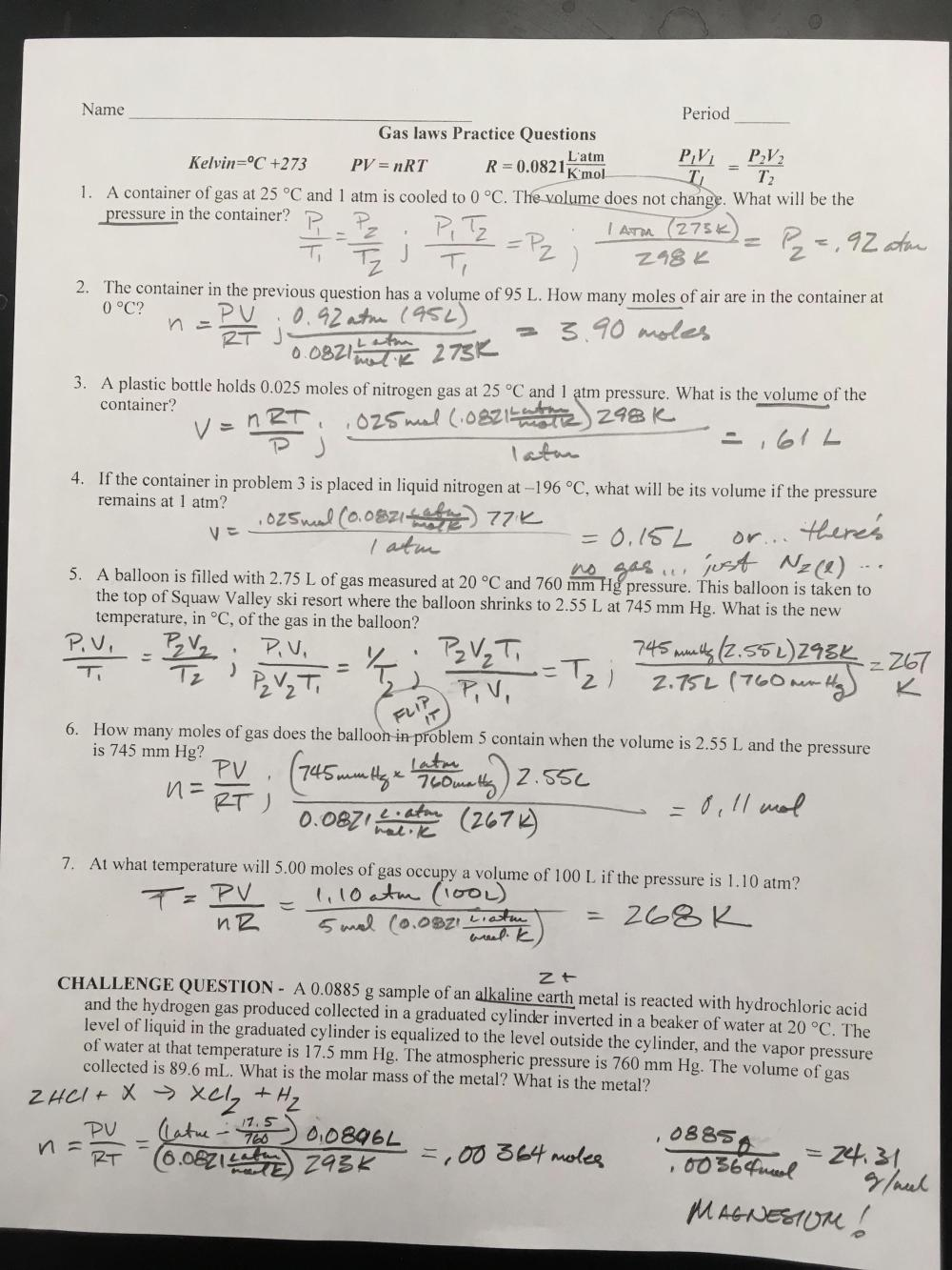 medium resolution of Dimensional Analysis Worksheet Answer Key Chemistry