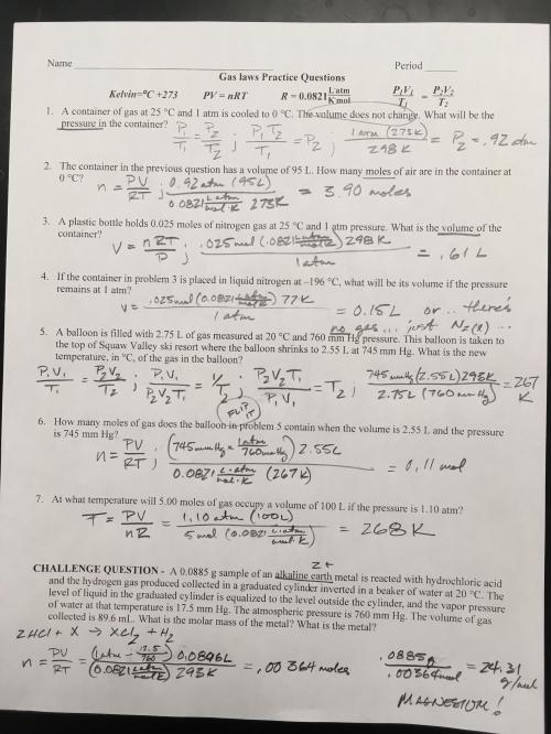 small resolution of Dimensional Analysis Worksheet Answer Key Chemistry