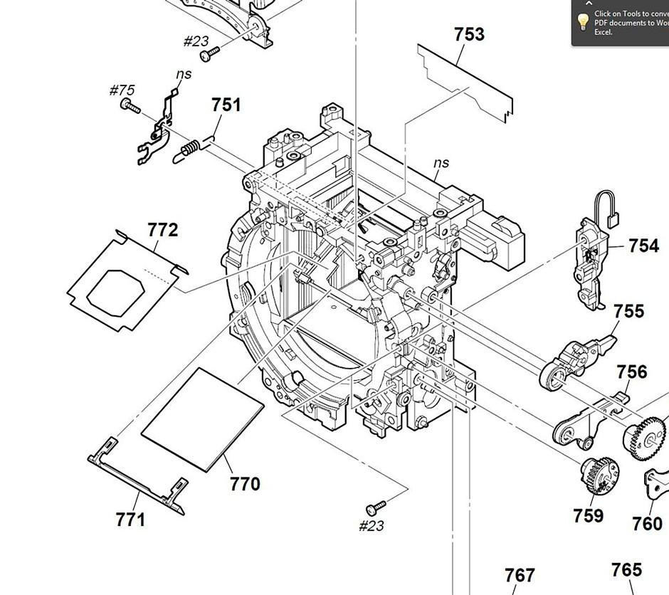 Part fell off A700 help / advice pls!: Sony Alpha SLR