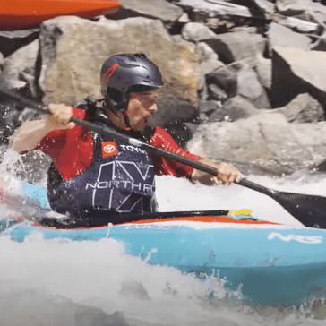 Whitewater kayaking: Shooting with DJI drones and gimbals at the North Fork Championship