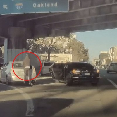 Caught on video: Photographers robbed of $7,000 in gear while stuck in traffic in San Francisco