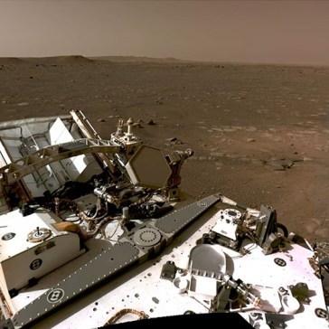 NASA shares Perseverance's first 360° view of Mars