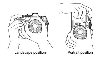 Re: What's your MFT camera's portrait orientation