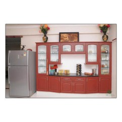 Wooden Wall Units Living Room Reclining And Regalias Brown Unit Rs 25000