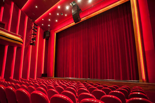 MOTORIZED STAGE CURTAINS FOR STAGES AND AUDITORIUMS Auditorium