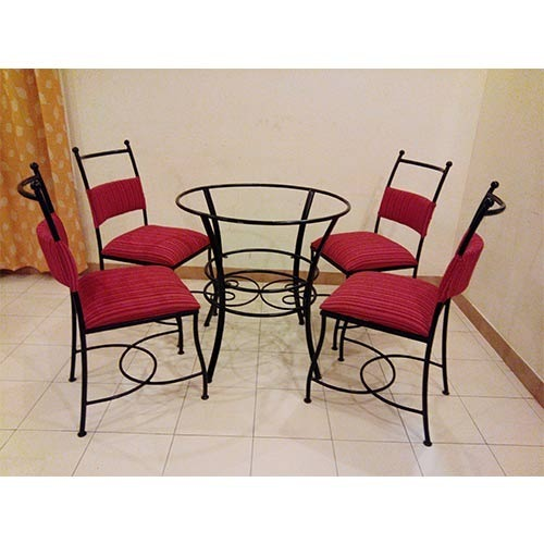 chair design iron wooden ladder back with padded seat dining furniture wrought room manufacturer from pune
