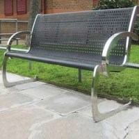 Steel Garden Bench - Suppliers & Manufacturers in India