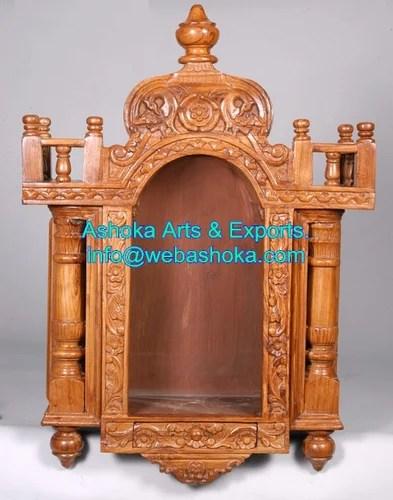 Wooden Mandir Temple Design For Home