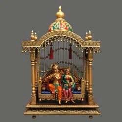 Romantic Radha Krishna Wallpaper Hd Swings Chatri Amp Mandir Jhulas Small Chart Jhula Ganesh