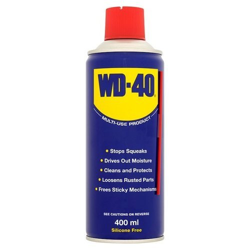 wd 40 rust removing