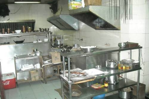 kitchen exhaust fan commercial painted gray cabinets used restaurant equipment - wholesale trader from new delhi