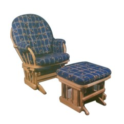 Glider Chair With Ottoman India Bedroom Wardrobe Valet Gliding Luxury Manufacturer From Gurgaon