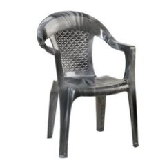 White Plastic Chairs Aluminum Sling With Arms High Back Arm Rest Chair Exporter