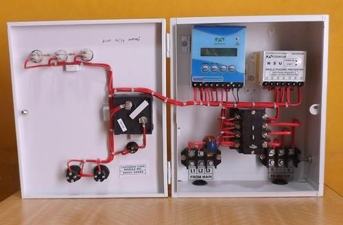 dry run control panel board - 1 3 phase dol dry run panel electric power  generator uae