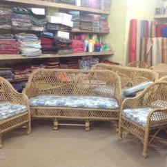 Bamboo Couch And Chairs Gripper Chair Pads Cane Furniture Sofa Set Wholesaler From Coimbatore