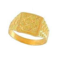 Finger Ring Diamond Manufacturer From Howrah. Indian Gold Rings For Men  With Price Kenetiks Com