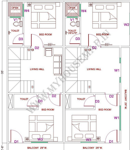 3d House Map Online & House Exterior Service Provider From Jaipur