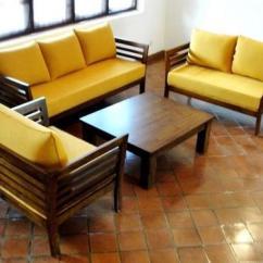 Teak Wood Sofa Set Philippines Leather Living Room Decor Sets - Metal Manufacturer From Mumbai