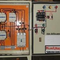 Star Delta Control Panel Wiring Diagram Three Prong Switch Motor At Rs 1000 No S म टर