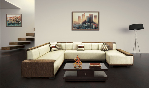 reclining leather living room furniture sets black white and lime green ideas sofa - 5 seater metal set manufacturer from mumbai