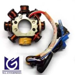 Ignition Switch Relay Wiring Diagram Mazda B2200 Electrical Coil Plate Assembly - Lml Bajaj Tvs Hero Honda Yamaha Suzuki Manufacturer ...